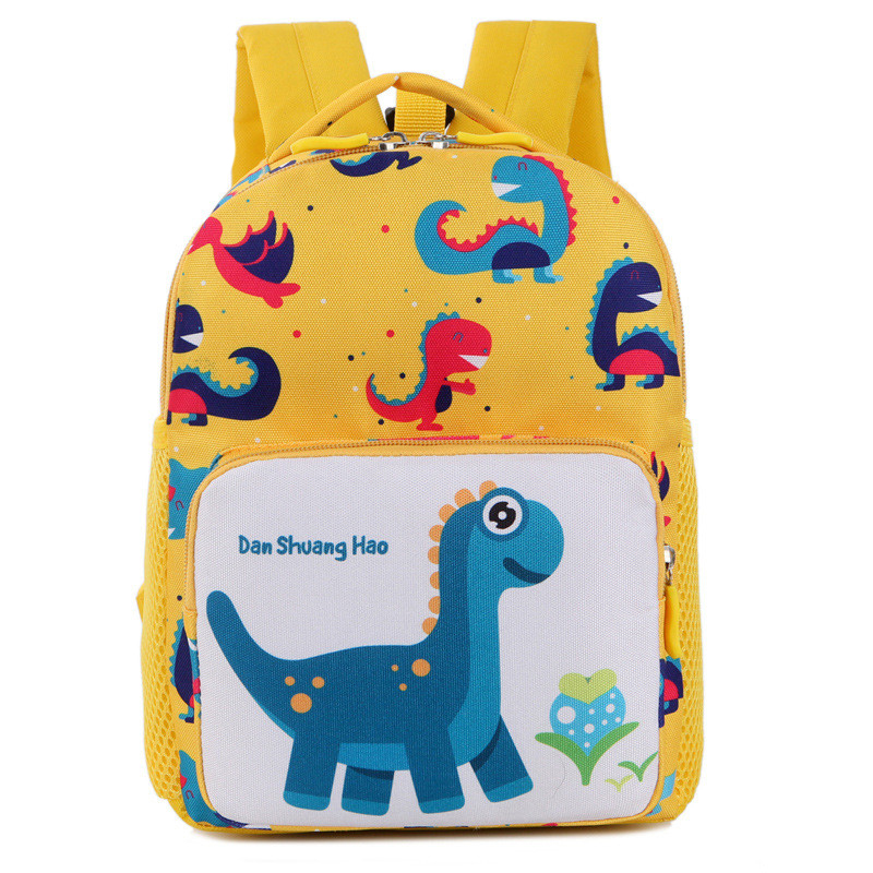 Mini New Kids Backpacks Cute Cartoon Dinosaur Printed School Bags For Kindergarten Girls Boys Children Anti-lost Nursery Bag