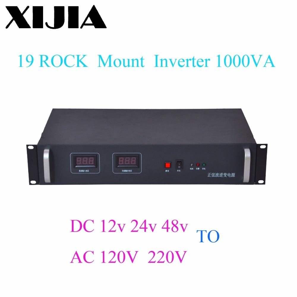 1000VA 2U Communication inverter 19 Rack Mount Pure Sine Wave Inverter