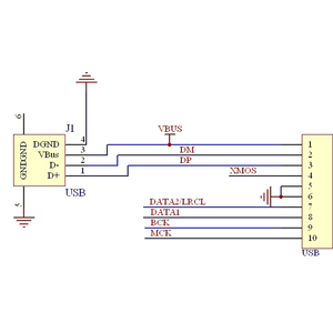 Image 5 - Lusya XMOS U8 ドーターカード DSD サポート PCM II2S 出力同軸出力 T0403