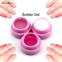 saroline nail Art False Builder Gel Camouflage Tips Extension Acrylic for Nail Natural Nude Pastel Color UV soak off