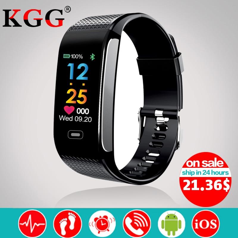 CK18S Smart Band Fitness Armband Tracker Pedometer Armband Blutdruck Herz Rate Armbanduhr Android & IOS PK CK11S