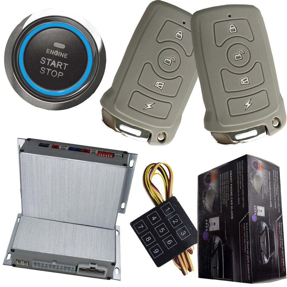 automotive car burglarproo device smart key remote rfid car