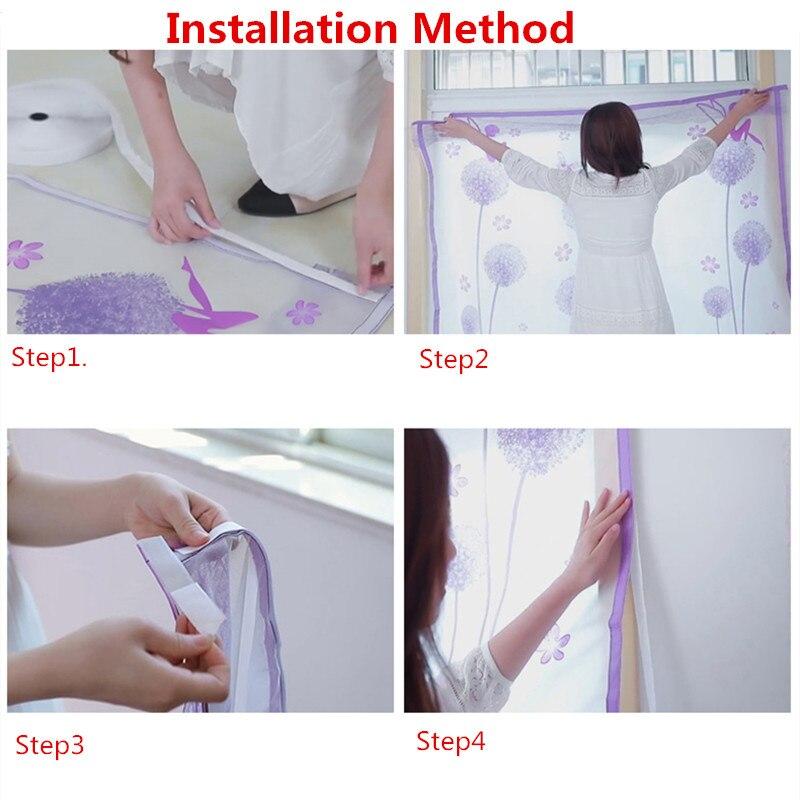 Купить с кэшбэком 120*150 cm Thick Warm Zipper Curtain Winter Sealed Window Winter Windproof Bedroom Windshield Cold Insulation Film Translucent