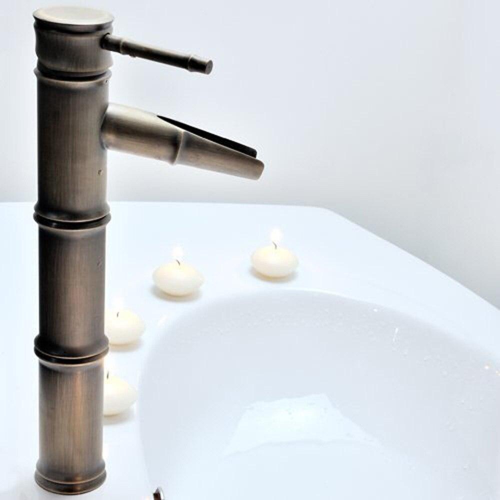 Aliexpress.com : Buy CLOS Single Handle Bathroom Bamboo Vessel ...