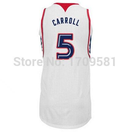 100% authentic 996f3 4d8d8 Atlanta #5 DeMarre Carroll Jersey Cheap #17 Dennis Schroder ...
