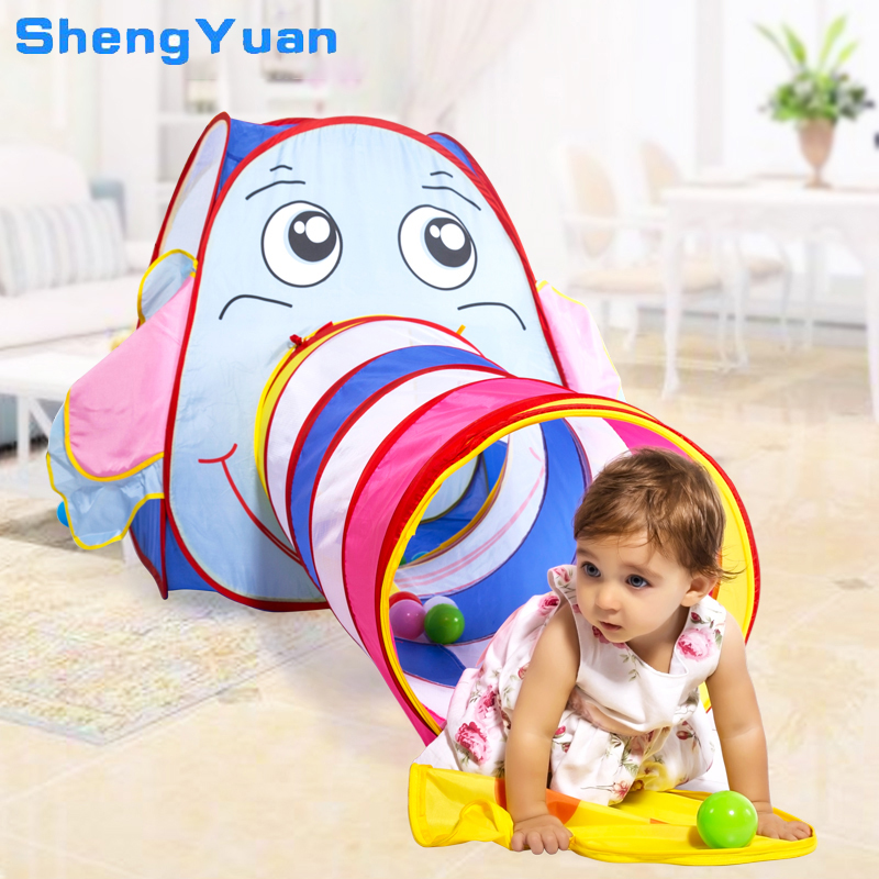 1 Set Children's Tent for Kids House Ball Pit Baby Crawling Play Tent for Children Ball Pool Ocean Ball Holder Set Outoor Toys