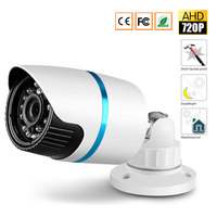 CCTV MIni HD IR Cut Night Vision AHD Camera Outdoor Waterproof 720P 2000TVL 3 6mm Lens