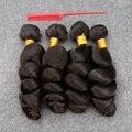 Лучшие Продажи 4 Пучки Перуанский Девственные Волосы Свободная Волна Необработанные Перуанский Свободная Волна 100 г/шт. Дешевые Перуанской Пучки Волос Плетение