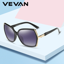 VEVAN 2019 High Quality Oversized Sunglasses Women Polarized UV400 Square Gradient Sun Glasses Female Vintage gafas de sol