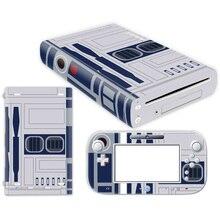 Transporte da gota livre adesivo de Pele Macia Capa Para Novo Nintendo WII WII U Console