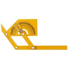 General Tools Protractor and Angle Finder with Articulating Arms Folding Ruler Measuring Instrument Template Angle izer