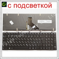 New Russian Backlit keyboard with frame for DEXP Atlas H101 H103 H111 H112 H113 H151 H152 H153 CLV 670 SB RU black