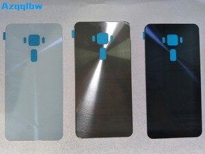 Image 2 - Azqqlbw Voor Zenfone 3 ZE552KL Z012DE Batterij Cover Case Back Deur Terug Behuizing Batterij Cover Vervangende Onderdelen Originele Case