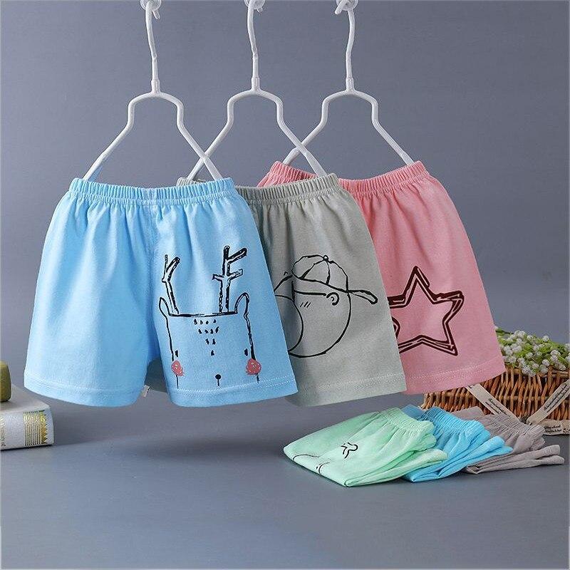 100% Wahr Kind Shorts Sommer Casual Jungen Mädchen Cartoon Print Hosen Kinder Baumwolle Kleidung Herausragende Eigenschaften