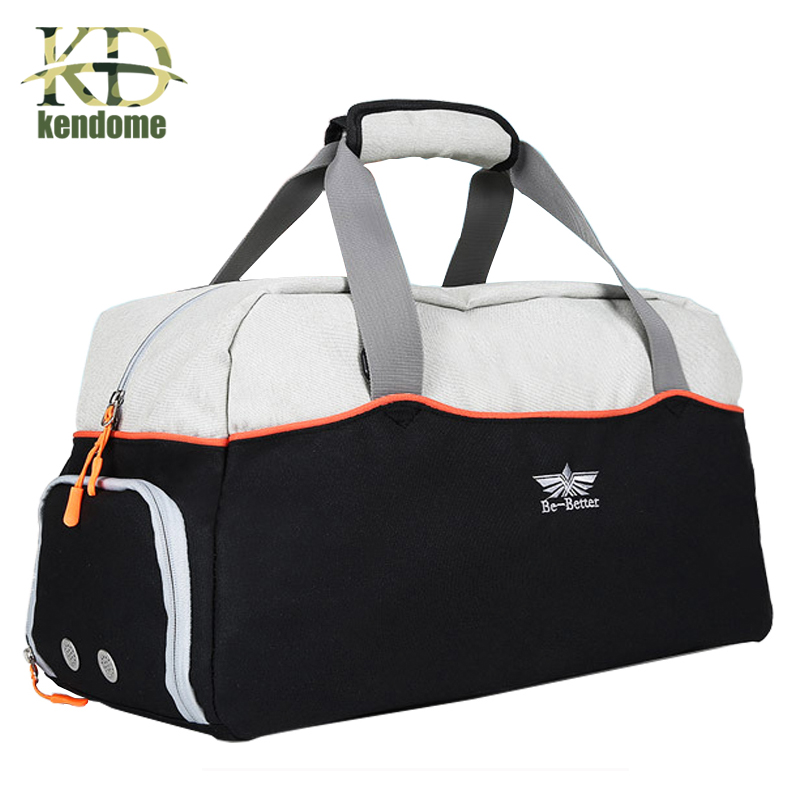 2018 Hot Large Multi-function Sports Gym Bag With Shoes Pocket Men Training Shoulder Bag Women Fitness Outdoor Travel Handbag durable gym bag travel outdoor shoulder bags handbag sports bags fitness men crossbody large for shoes pocket waterproof xa388wa