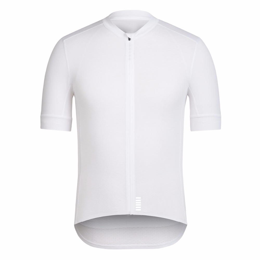 SPEXCEL 2019 All White Top Quality Short sleeve cycling jersey pro team race cut Lightweight for Summer cool bicycle Apparel
