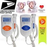 Sonoline B doppler Fetal/LCD Luz de Fondo, monitor de bebé del corazón, 3 mhz sonda + Gel, FDA