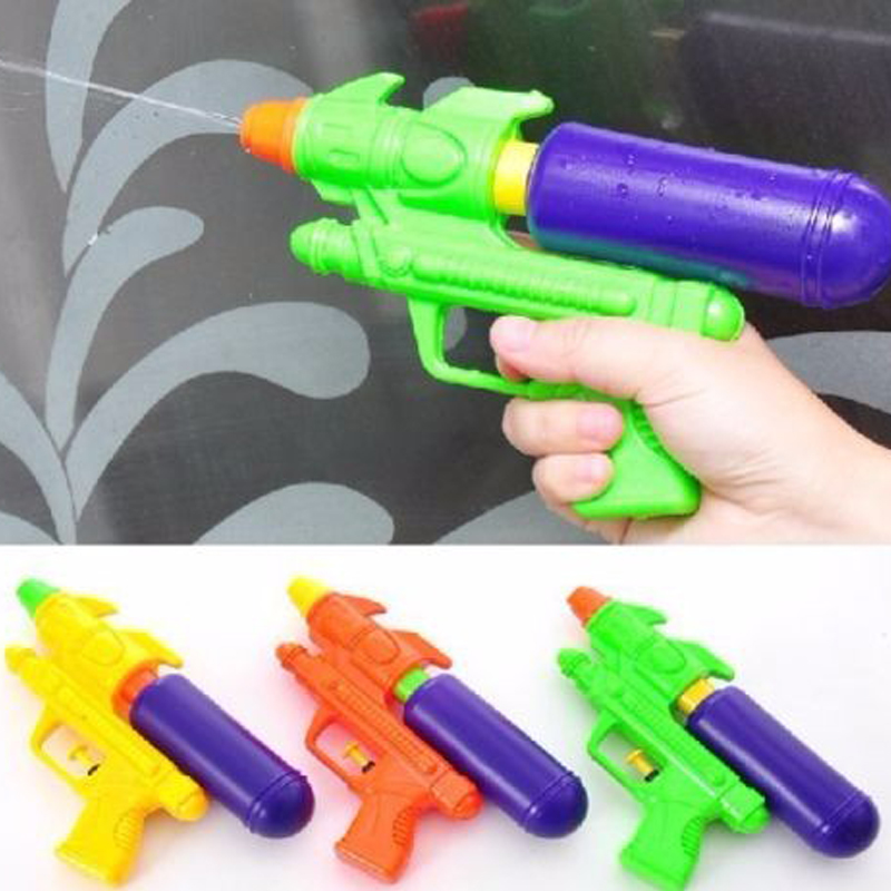 Summer 3 Colors Kids Water Gun Game Outdoor Playing Color Tools Soaker Squirt Beach Ocean Pool Pump Action Pistol Toys Random