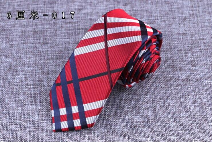 Bekleidung Zubehör Xincai 2018 Hohe Qualität Fabrik Verkäufer 6 Cm Männer Klassische Krawatte Plaid Jacquard Krawatten Mann Bräutigam Business Mode Krawatte Delikatessen Von Allen Geliebt