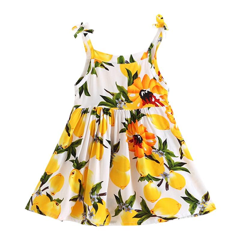 2018 new children's clothing summer children's cotton dress girls summer dresses 2-3-4-5- years old baby Dresses