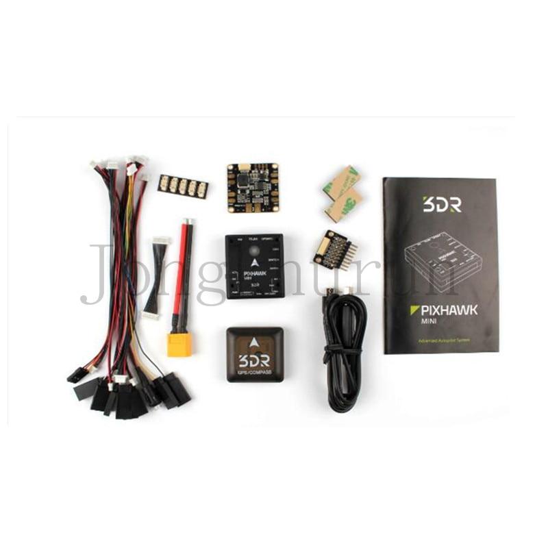 3DR Pixhawk Mini Advanced 32 bit ARM Cortex Flight Control with GPS Set for FPV Multicopter quadcopter drones pixhawk px4 uav flight control suite m8n gps digital osd 3 w led