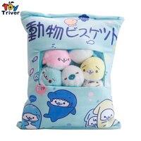 One Bag of Sea Lion Seal Sea Dog Plush Toy Stuffed Ocean Animal Doll Japanese Animation TATA Creative Birthday Christmas Gift