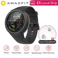 AMAZFIT Verge gps Смарт-часы IP68 Водонепроницаемый 1,3 «AMOLED экран ответ на звонки сердечный ритм SmartWatch Мульти Спорт глобальная версия