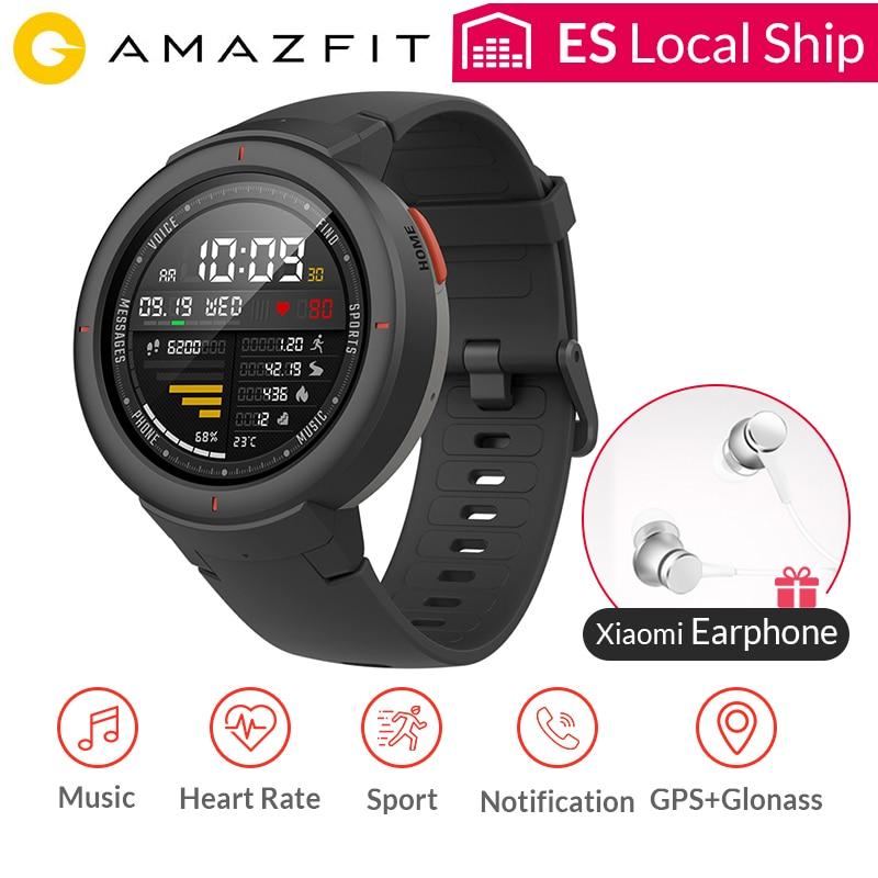 Amazfit verge gps relógio inteligente ip68 à prova dip68 água 1.3
