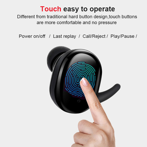 Image 2 - Capsule TWS Wireless Headphones Bluetooth 5.0 Earphone Waterproof in ear Sport Headsets Handsfree Earbuds With Charging Box