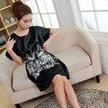 Горячий Продавать!! искусственный Шелк Бабочки Пижамы Платья Ночные Рубашки Халат Женщины На Продажу