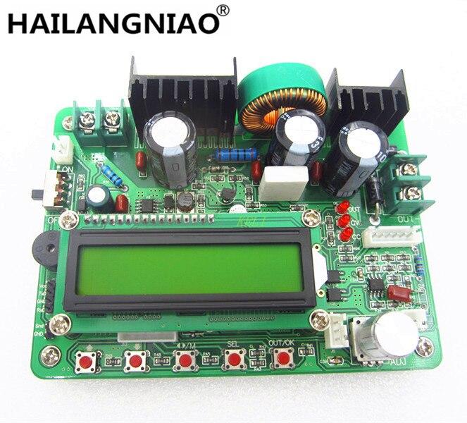 ZXY6005 обновленная версия ZXY6005S полный ЧПУ постоянное напряжение постоянного тока DC-DC регулируется питания, 60 В, 5A, 300 Вт