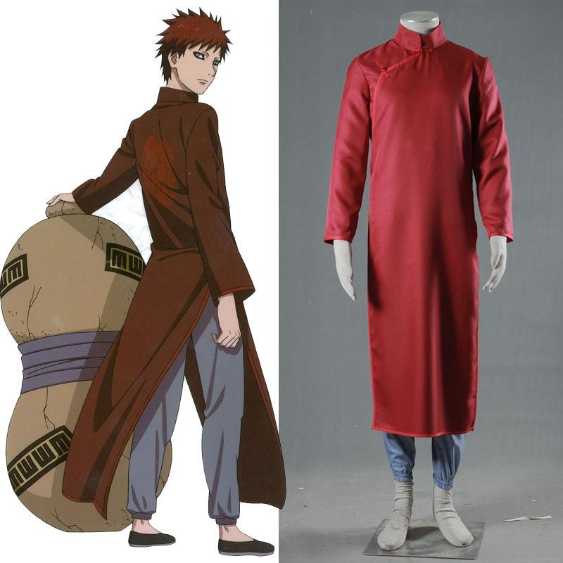 Athemis Anime Outfit font b Naruto b font Gaara font b Cosplay b font Costume Men