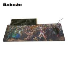 Babaite Locking Edge and Not Lock Edge Rubber Mice Mat Gaming Mouse Pad PC Computer Laptop Gaming Mice New Year's gift