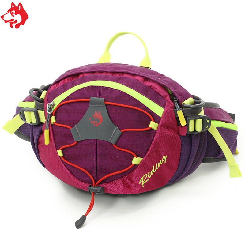 CY-148 Outdoor Sport Running Bag Nylon Waterproof Hiking  Climbing Camping Red/Orange/Dark Green/Green Vest Waist Bag