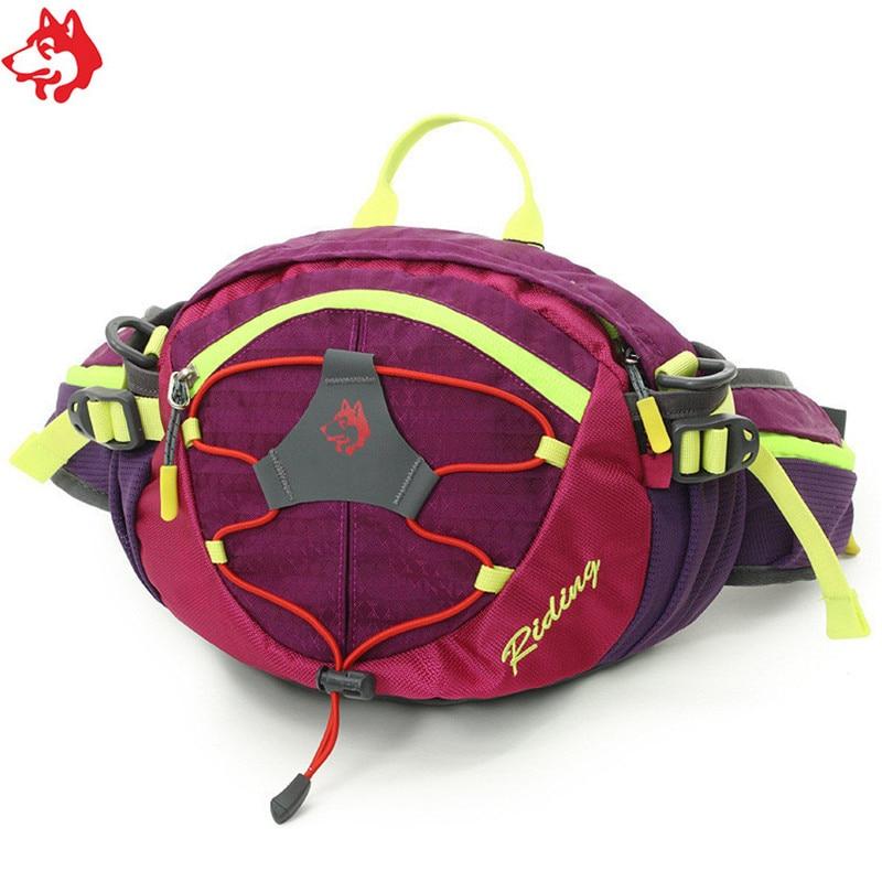 CY-148 Outdoor Sport Running Bag Nylon Waterproof Hiking  Climbing Camping Red/Orange/Dark Green/Green Vest Waist Bag