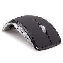 Горячая Распродажа беспроводная мышь 2,4 г компьютерная мышь Складная оптическая мышь USB приемник для ноутбука ПК компьютер настольный офис