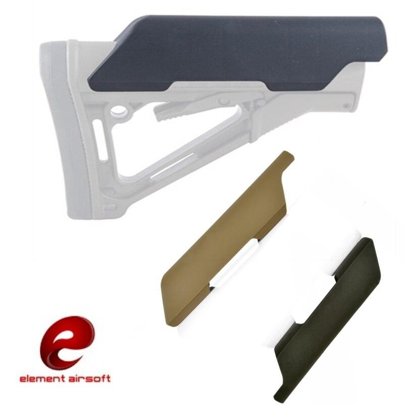 Elemento airsoft baixo estilo bochecha riser ar m4 caça estoque tático softair arma acessórios ex052