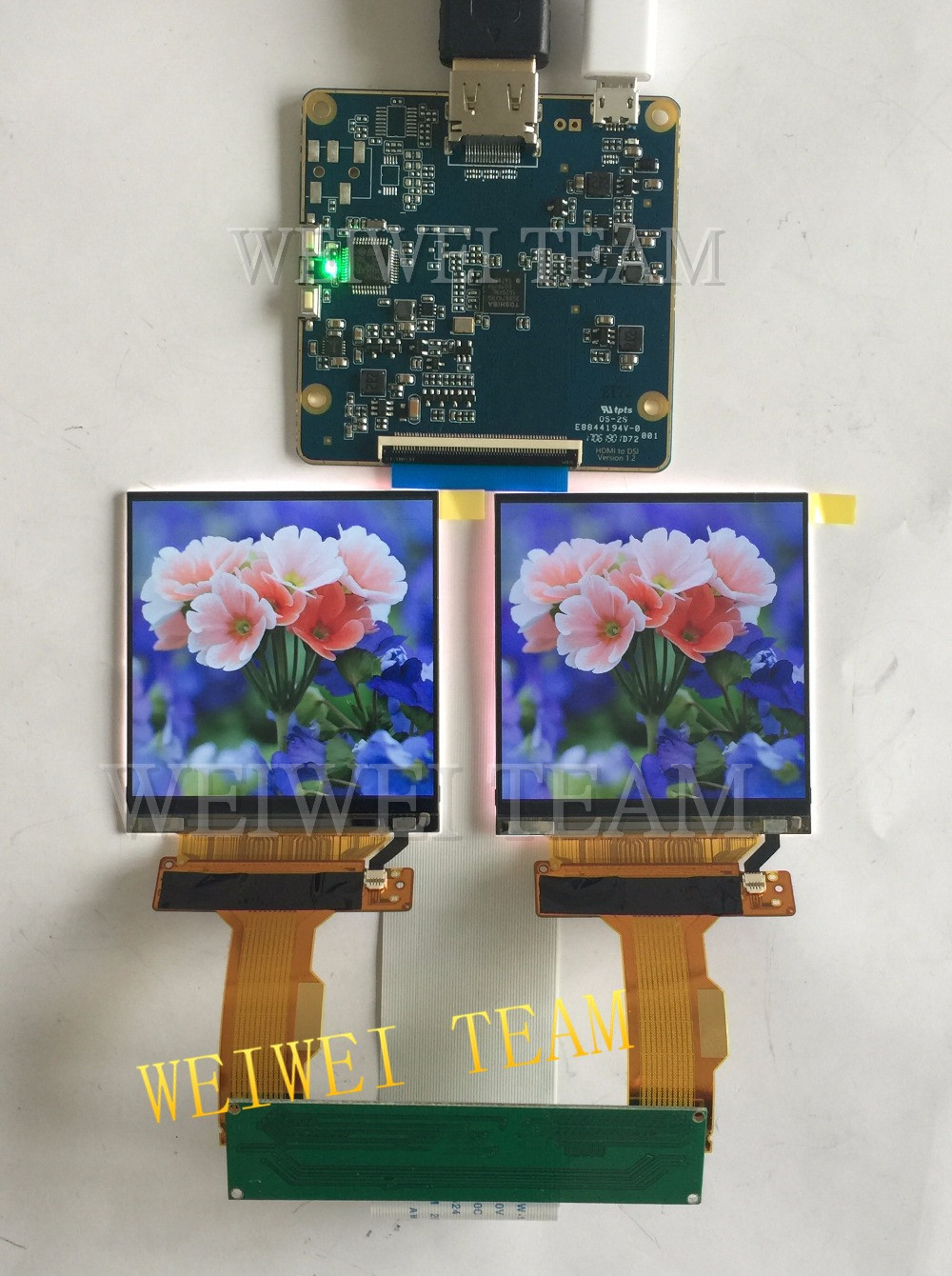 2.9 2880*1440 2K TFT LCD MIPI screen with HDMI to MIPI Dsi driver board for VR AR project2.9 2880*1440 2K TFT LCD MIPI screen with HDMI to MIPI Dsi driver board for VR AR project