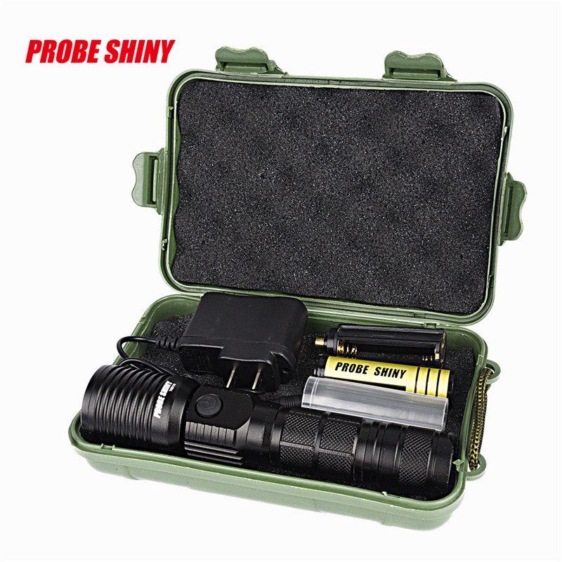dynamic led turn light  X800 Zoomable XML T6 LED Tactical Flashlight+18650 Battery+Charger+Case Lantern for a bicycle  914 led cree xm l2 t6 flashlight 6000lumens torch 5modes tactical flashlight zoomable flash light 18650 battery charger