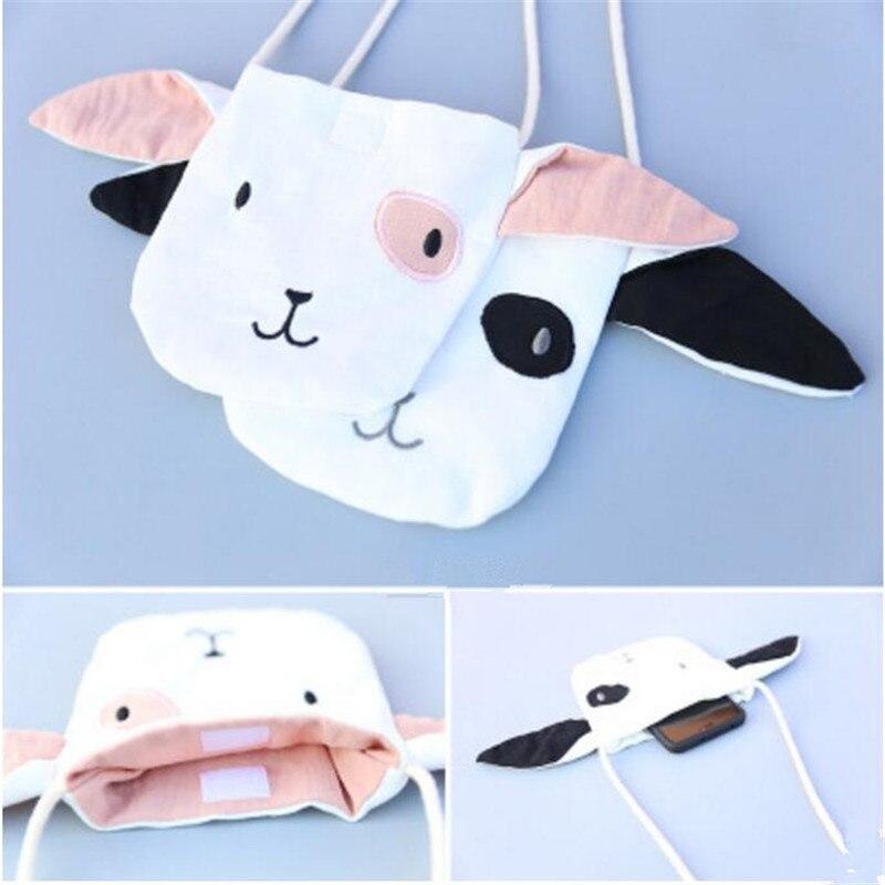 Korea Handmade Cute Coth Cartoon Dog Children Girl Kids Necklace Bag Apparel Accessories-XTHCGNLB016F
