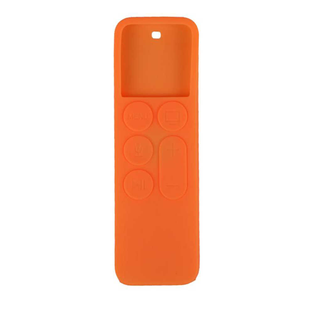 Soft Fashion Durable Dustproof TV Accessories Remote Control Cover Anti Slip Silicone Colorful Protective Case For Apple TV 4