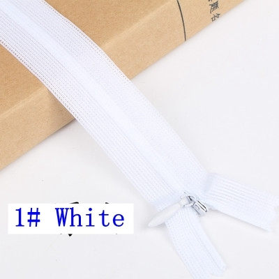 40/60 cm Invisible Zipper cushion Skirt Hidden 3# Nylon Zipper for sewing/Garment accessories DIY Handmade Craft
