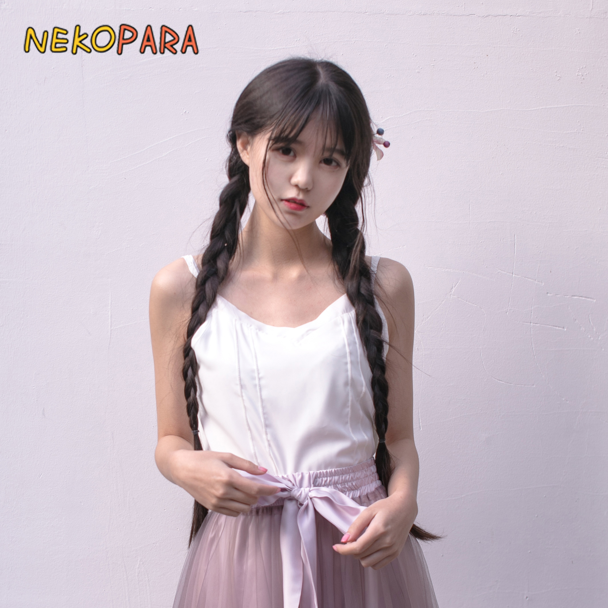 Continuous Rain Vintage Chinese Style Simple White Tanks Camisole