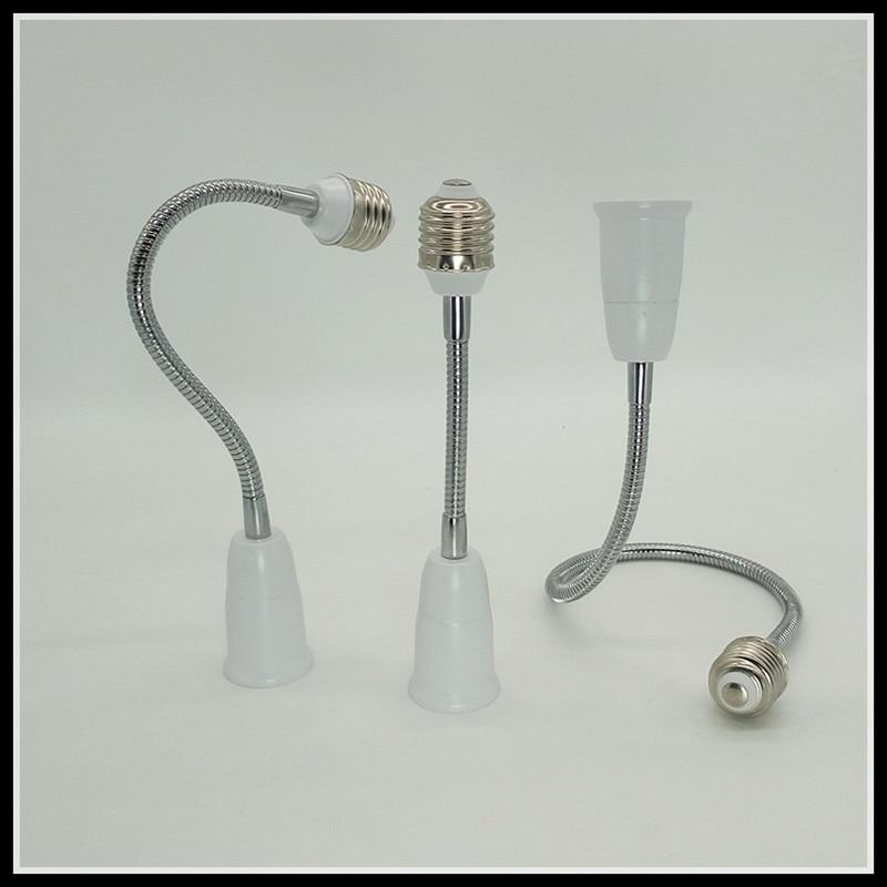 38 cm E27 lengthen modeling lamp led screw converter lamp head lighting accessories 3 pc
