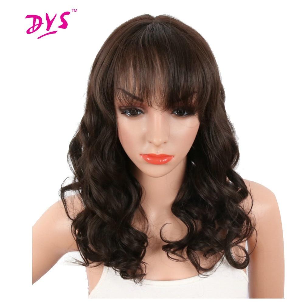 Deyngs Pixie Cut Syntetiska Paryk Med Bangs För Svarta Kvinnor Korta - Syntetiskt hår - Foto 4