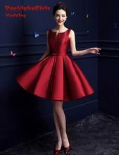 Maphia Homecoming Dresses 2017 Custom Made Scoop Neckline Sashes Spaghetti Strap Knee Length A Line Party Dress