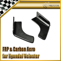 EPR Car Styling Para Hyundai Veloster Carbon Fiber Parachoques Trasero Inferior Línea 2 unids