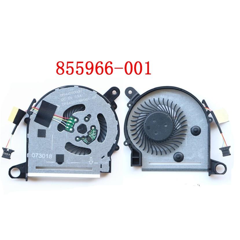 Fan For HP X360 13-U 13-U038CA 13-U124CL 855966-001 DFS400705PU0T FHHT0000H NS65B06 16B06 BONBON13 023.10065.0001 0011 0021