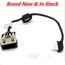 Кабельный разъем питания постоянного тока для ноутбука, зарядный кабель, порт, провод, жгут для Lenovo G70-70 80HW, 80FF, 80, fg, для Lenovo, 80HW, для Lenovo, 80FG, с р...