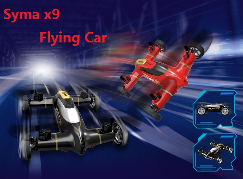 Syma X9 Mini Drone Air-Land Dual Mode Flying Car RC Quadcopter Switch With 3D Flips DRON цена